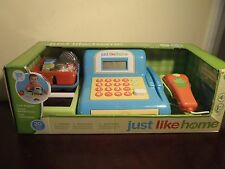 JUST LIKE HOME CASH REGISTER 20 PIECES. NEW