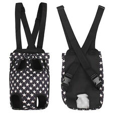 New listing Black Nylon Small Dog Carrier Backpack Cat Pet Puppy Bag Holders For Chihuahua
