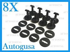 NEW GENUINE OEM BMW 3,5,7,X SERIES BLACK CAR MAT FIXING CLIPS 8 PCS 51479416390