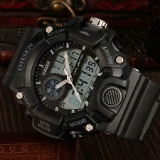 Unisex G Sport Style Digital Military Water Proof Shock Wrist Watch Quartz Black