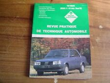 REVUE TECHNIQUE L'EXPERT AUTOMOBILE FIAT REGATA 70 - 85 S automatique diesel DS