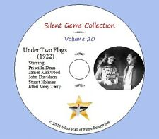 "DVD ""Under Two Flags"" (1922) Tod Browning, Priscilla Dean, Classic Silent Drama"
