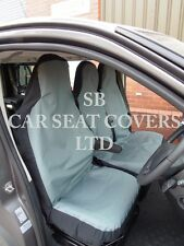 TO FIT A TOYOTA HIACE VAN,2006,SEAT COVERS,WATERPROOF GREY CANVAS S+D £29.99