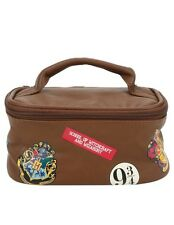 Harry Potter Hogwarts Luggage Train Case Cosmetic Makeup Bag New With Tags!