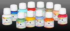 VIELO Fabric Paint, Dye 50 ml Jar Textile Painting Craft 88 Colours