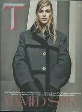 NEW YORK TIMES STYLE MAGAZINE AUGUST 24, 2014 VANESSA AXENTE ON THE COVER