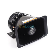 ABS & Metal LOUD 100W ALARM ELECTRONIC SIREN/PA/PUBLIC ADDRESS OUTDOOR SPEAKER