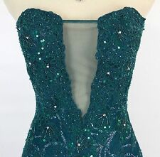Jovani Size 2 Mermaid Hunter Lace Prom Formal Evening Polyester $620 Gown Long