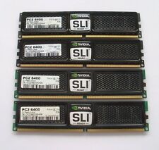 8GB (4 X 2 GB MATCHED PAIRS) OCZ SLI EDITION  DDR2-800 PC2-6400 RAM