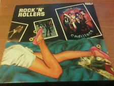 LP KIM & THE CADILLACS ROCK'N'ROLLERS OX 3312 EX/NM ITALY PS 1979
