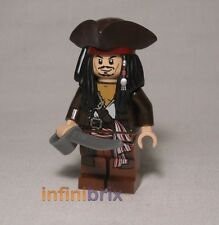 Lego Captain Jack Sparrow Tricorne from Sets 4193, 4194, 4195 Pirates NEW poc011