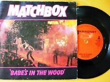 MATCHBOX = BABE'S IN THE WOOD / TOKYO JOE  - PICTURE SLEEVE & EXCELLENT VINYL