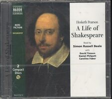 Hesketh Pearson Life of Shakespeare audiobook CD NEW