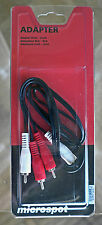 New RCA-RCA cinch-cinch stereo cable 1 meter long