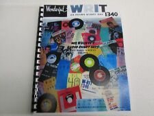 The First WRIT/Milwaukee Top 40 Radio Survey Chart Book-The Rock Era 1960-1974