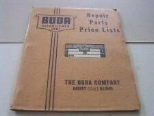1941 Buda Gasoline & Diesel Engines Repair Parts Price List Harvey IL in Org Env