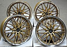 "18"" CRUIZE 190 GDP ALLOY WHEELS FIT AUDI TTS COUPE ROADSTER MK2"