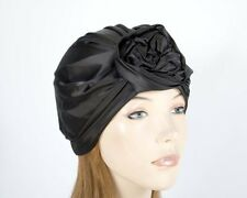 Black fashion ladies turban by Max Alexander. Fashion, casual or chemo