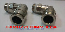 Camozzi Elbow Fitting 10MM PUSH IN X 1/4 Thread For Corghi Tire Changer