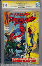 AMAZING SPIDER-MAN #59 OWW CGC 7.0 STAN LEE 1ST MARY JANE COVER #1197729026 dns