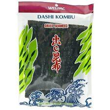 Wel-Pac Dashi Konbu Secchi Alghe 113,4 G A secco Fuco Umami Stagionatura Haidai