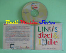 CD LINUS DIECI E LODE compilation 1995 FRANK SINATRA OTIS REDDING (C23) no mc lp