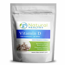 90 TABLETS VITAMIN D3  FOR STRONG BONES AND TEETH IMMUNE SYSTEM