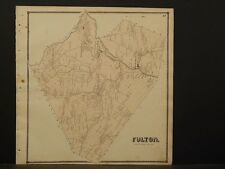 New York, Schoharie County Map, 1866, Fulton Township Z4#50