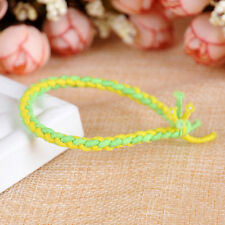 10X Elastic Braided Hair Ties Band Rope Ponytail Holders Women Hairs Accessory