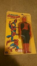 Amazing Spiderman with Spiderweb 12 inch Mego Figure 1977