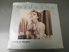 """1984 Madonna – Like A Virgin 7"""" 45 Sire – 7-29210 EX/VG Picture Sleeve"""