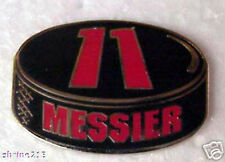 Mark Messier NHL Hockey Puck Collector Pin Rangers