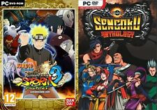 Naruto Shippuden Ultimate Ninja Storm 3 Full Burst&Sengoku Anthology  new&sealed