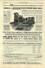 1922 Wh Dorman Stafford Wave Power Drill Fire Salvage Boats Merryweather
