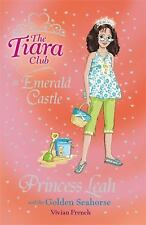 Princess Leah and the Golden Seahorse (The Tiara Club)-ExLibrary