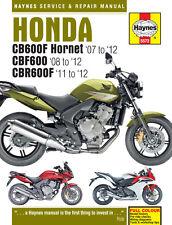 Haynes Manual 5572 - Honda CB600 Hornet, CBF600 & CBR600F (07-12) service/repair