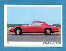 AUTO E MOTO - Figurina-Sticker n. 34 - LOTUS ELAN S 130 -New