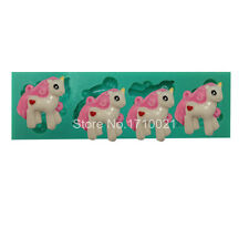 Little pony Silicone Mould for Cake Decorating/clay/mould