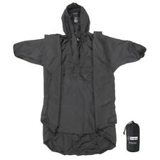 Snugpak Enhanced Patrol Rain Poncho Covers Backpack w/Stuff Sack Tactical/Hiking