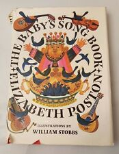 The Baby's Song Book Elizabeth Poston Illustrated William Stobbs Beautiful Rare