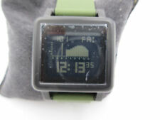 NIXON THE HOUSING TIDE WATCH, NEW IN BOX MODEL A157-1042 GREEN BAND
