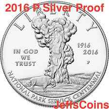 2016 P 100th Anniversary of the National Park Service 1 Silver Dollar Proof 16Cc