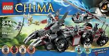 NEW LEGO CHIMA Worriz Combat Lair 70009 Wolf Battle Vehicle Machine CHI Eris NIB