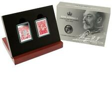 2014 King George V Centenary of Stamps 1/2oz Silver Proof Stamp & Coin Set