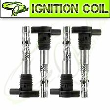 Set of 4 Ignition Coil for 01-05 AUDI TT A4 Quattro VW  Beetle Derby Golf Jetta