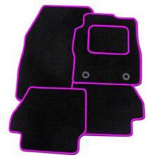 FIAT BRAVO 2007+ su misura tappetini auto moquette nera con finiture rosa