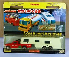 Majorette Kabaya Serie Japon ( From Japan ) 1/60 Camping Car Deluxe N°278 RARE