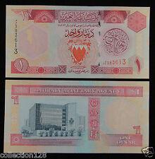Bahrain Paper Money 1 Dinar 1998 UNC