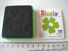 Retired Sizzix Flower Green die cutter ***Craft Clear Out***