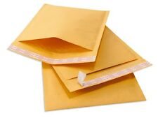 200 #0 TUFF Kraft Bubble Mailers 6x10 Self Seal Padded Envelopes 6 x 10